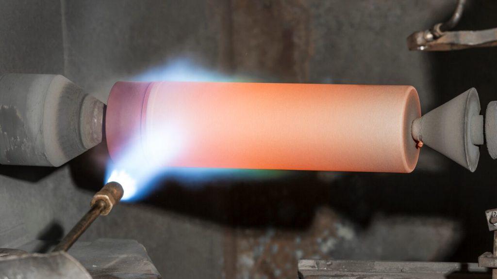 flame spray process