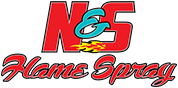 N&S Flame Spray logo